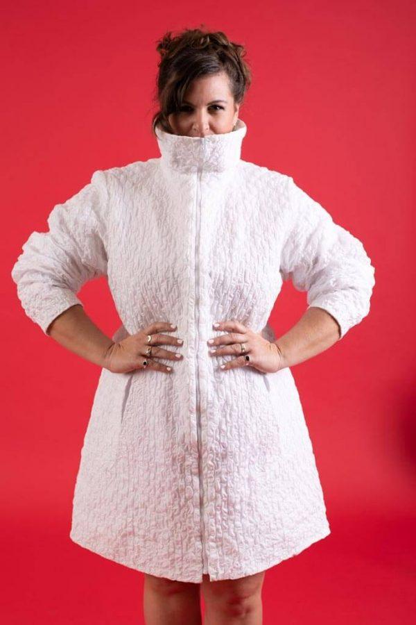 מעיל חורף לנשים במידות גדולות