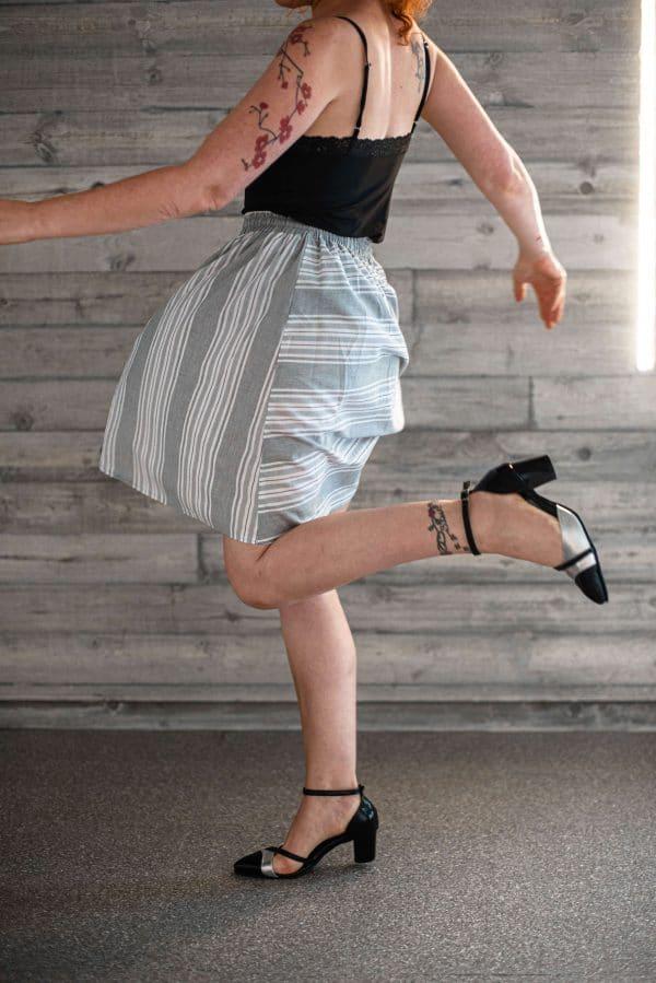 חצאית פסים